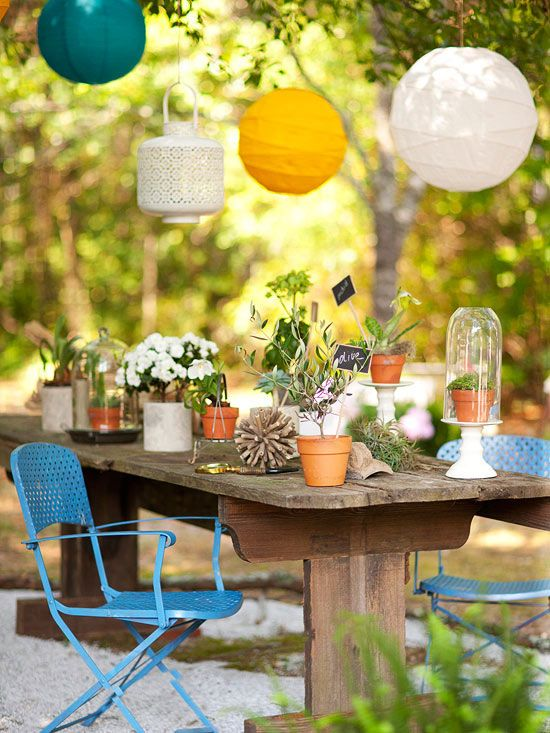 Better Homes and Gardens - Colorful Outdoor Decorating