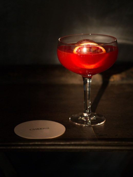 The Bloody Monday Cocktail is a sweet spooky Halloween cocktail that would be a huge hit at any Halloween parties you have coming up.