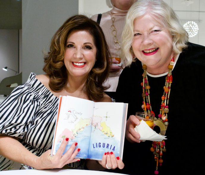 Me with Penny Randolph who illustrated my map